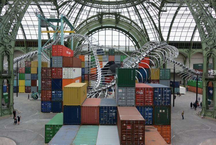 Monumenta - Huang Yong Ping, Empires, 2016, Paris, Grand Palais