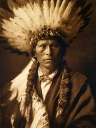 Edward S. Curtis, Chief Garfield, 1907
