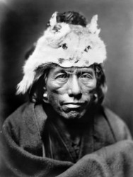 Edward S. Curtis, Navajo Man, 1905