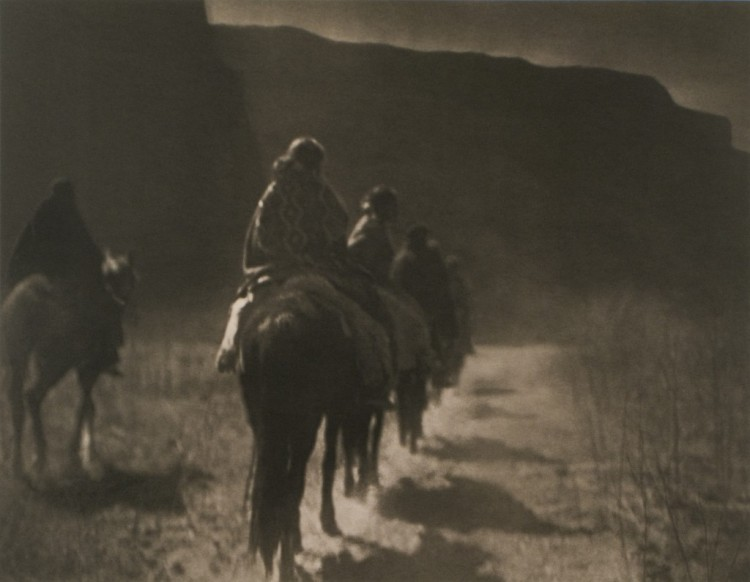 Edward S. Curtis, The Vanishing Race