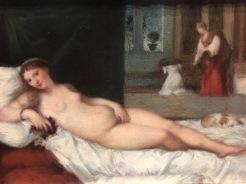 La Vénus d'Urbain (copie d'après Titien), 1860.