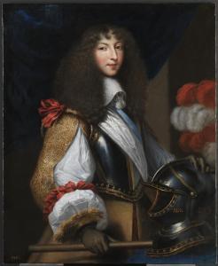 Attribué à Jean Nocret, Louis XIV jeune, huile sur toile, 1655