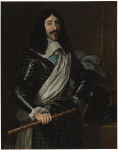 Philippe de Champaigne, Louis XIII, roi de France, huile sur toile, 1655