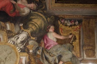Charles Le Brun, L'Apothéose de Psyché, huile sur toile marouflée au plafond (voussure), 1653, Paris, musée Carnavalet. © Damien Tellas