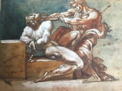 Théodore Géricault, Étude pour un étranglement