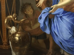 Charles Le Brun, Le Sacrifice de Polyxène, huile sur toile, 1647, New York, The Metropolitan Museum of Art. © Damien Tellas