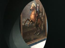 Charles Le Brun, Portrait équestre de Louis XIV, huile sur toile, Douai, musée de la Chartreuse. © Damien Tellas