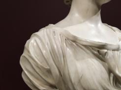 Edme Bouchardon, Madame Vleughels, 1732, marbre, Paris, musée du Louvre.