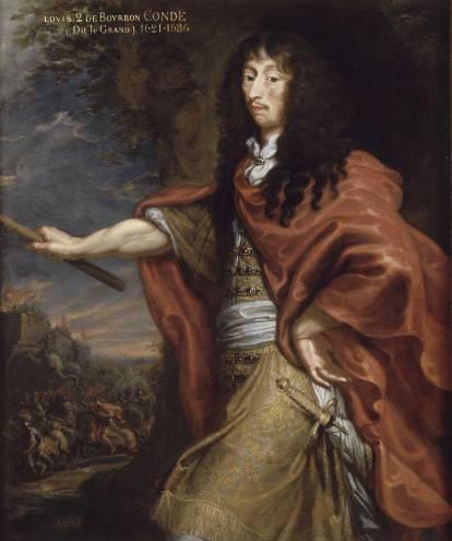 Justus Van Egmont, Portrait de Louis II de Bourbon dit Le Grand Condé (1621-1686), huile sur toile, Chantilly, musée Condé. © RMN (Domaine de Chantilly) / René-Gabriel Ojéda.