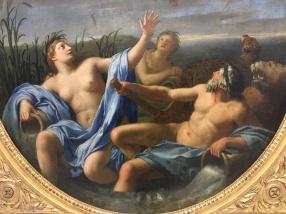 Eustache Le Sueur, L'Amour dérobe la foudre à Jupiter, 1646-1647, huile sur toile.
