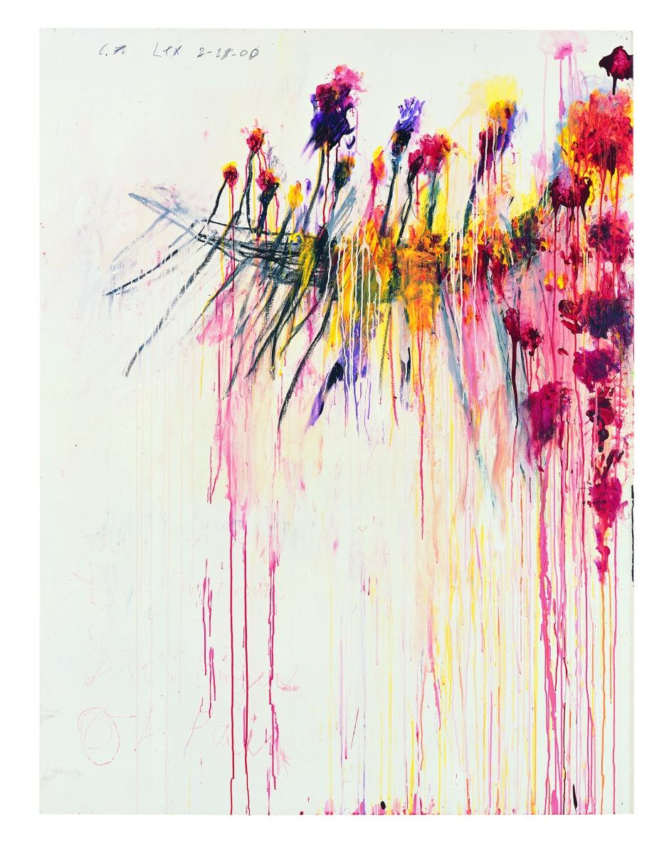 Le roi des traces - Cy Twombly au Centre Pompidou