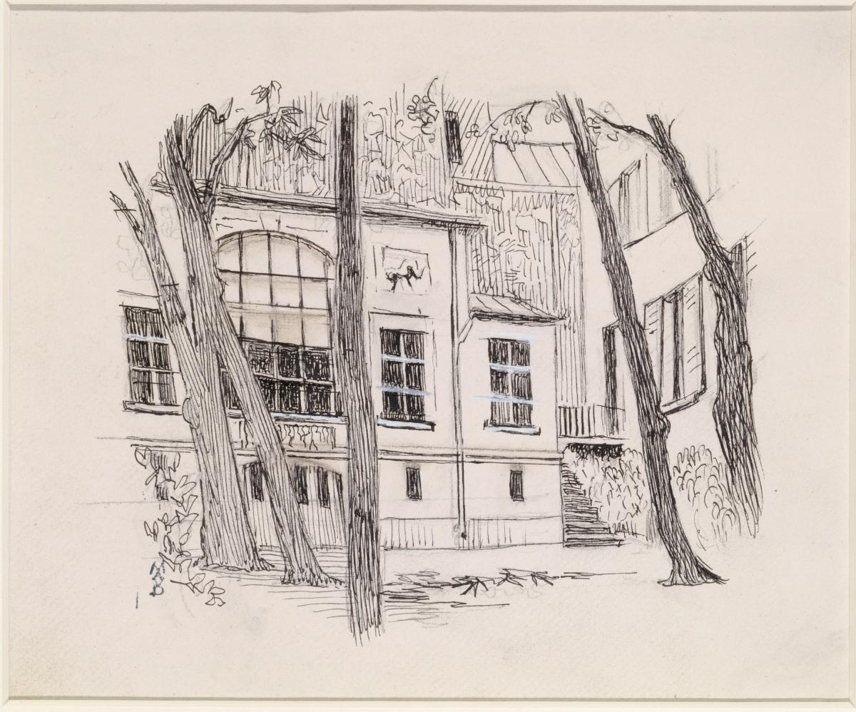 Un temple pour les peintres -  Maurice Denis et Eugène Delacroix, de l'atelier au musée