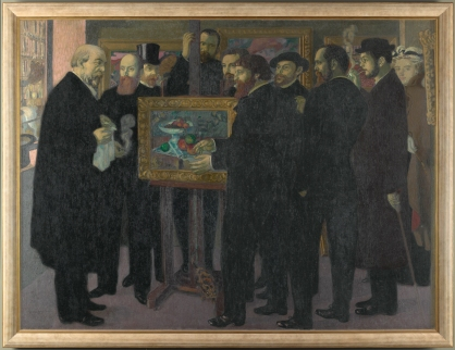 Maurice Denis, L'Hommage à Cézanne, huile sur toile © RMN-Grand Palais (musée d'Orsay) / Adrien Didierjean