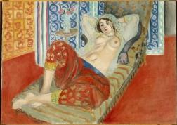Henri Matisse, Odalisque à la culotte rouge © Succession H. Matisse pour l'oeuvre de l'artiste