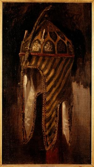 Eugène Delacroix, Etude de casque circassien © RMN-Grand Palais (musée du Louvre) / Franck Raux / René-Gabriel Ojéda